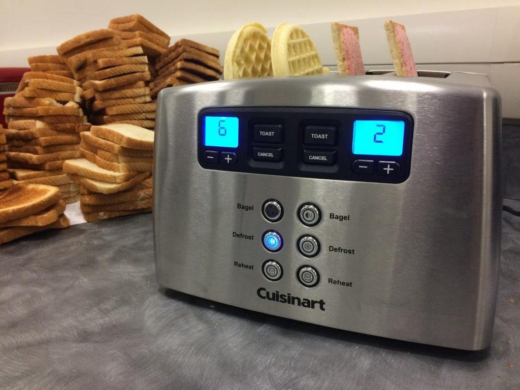 Notre opinion sur le grille-pain Cuisinart CPT440E